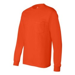 Authentic Long Sleeve Pocket T-Shirt