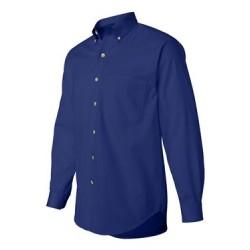 Long Sleeve Cotton Twill Shirt