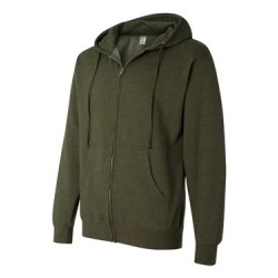 Midweight Hooded Full-Zip Sweatshirt