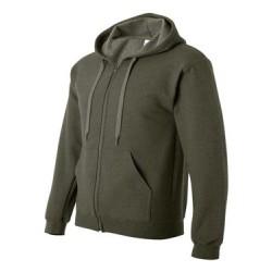 Heavy Blend Vintage Classic Full-Zip Hooded Sweatshirt