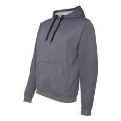 Polyester Fleece Hooded Pullover