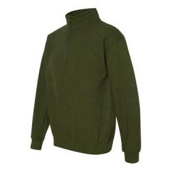 Heavy Blend Quarter-Zip Cadet Collar Sweatshirt