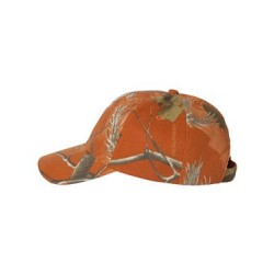 Structured Camo Cap