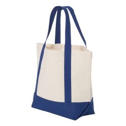 9 Ounce Small Cotton Canvas Boater Tote