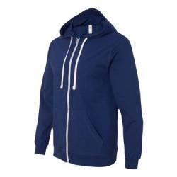 Sofspun® Full-Zip Hooded Long Sleeve T-Shirt