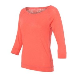 Women's Katherine Crochet Back T-Shirt