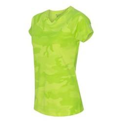 Double Dry Women's V-Neck Performance T-Shirt