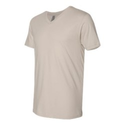 Cotton Short Sleeve V