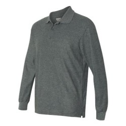 DryBlend® Double Pique Long Sleeve Sport Shirt