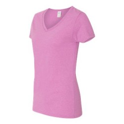 Heavy Cotton Women's V-Neck T-Shirt