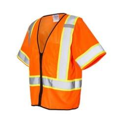 Class 3 Mesh Zippered Vest