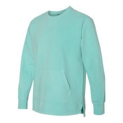 Garment-Dyed French Terry Pullover