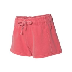 Garment-Dyed Women's French Terry Shorts