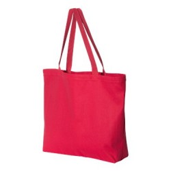 12 Ounce Gusseted Cotton Canvas Tote