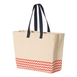 29L Bottom Pattern Beach Tote