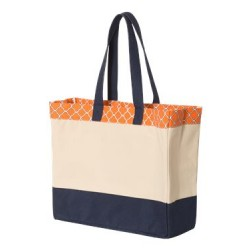 29L Top Pattern Beach Tote