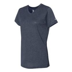 Triblend Performance Women's V-Neck T-Shirt