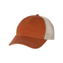 Garment-Washed Trucker Cap