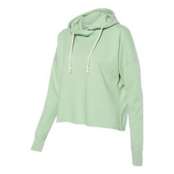 Women's Lounge Fleece Hi-Low Hooded Sweatshirt