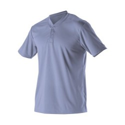 Adult Baseball Two Button Henley Jersey
