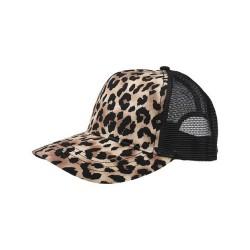 Leopard Fashion Trucker Cap