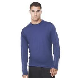 Long Sleeve Pieced Interlock T-Shirt