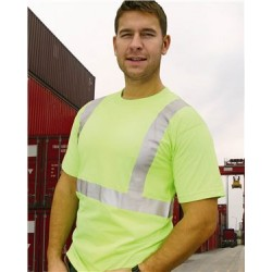 50/50 USA Made High Visibility Short Sleeve T-Shirt