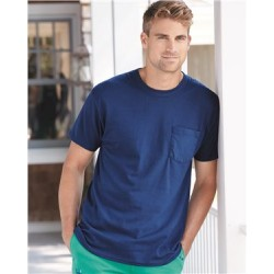 Authentic Short Sleeve Pocket T-Shirt