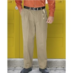 Pleated Front Pants