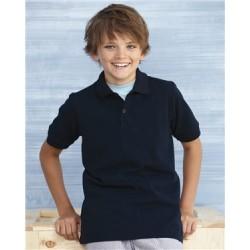 DryBlend Youth Pique Sport Shirt