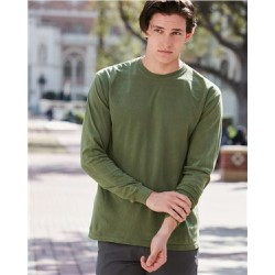 Garment-Dyed Heavyweight Long Sleeve T-Shirt