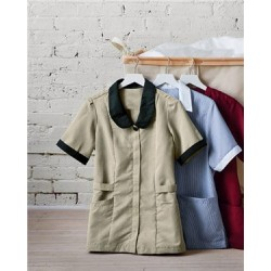 Ladies' Linden Grey Shawl Collar Tunic