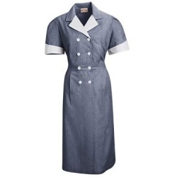Ladies' Double-Breasted Lapel Dress