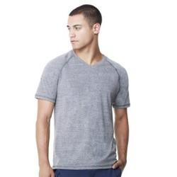 Triblend Short Sleeve V-Neck T-Shirt