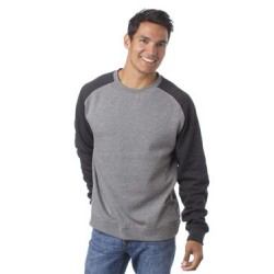 Fitted Raglan Sweatshirt