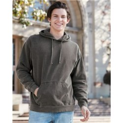 Garment Dyed Hooded Pullover Sweatshirt