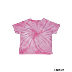 Cyclone Tie Dye Toddler T-Shirt