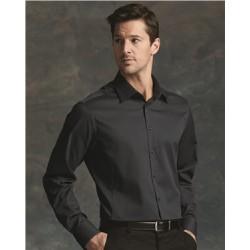 Slim Fit Non-Iron Dobby Pindot Shirt