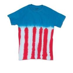 Flag Tie Dye T-Shirt