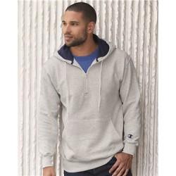 Cotton Max Hooded Quarter-Zip Sweatshirt