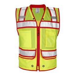 Color Contrast High Performance Surveyors Vest