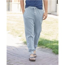 Garment-Dyed French Terry Joggers