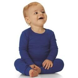 Infant Long Sleeve Baby Rib Pajama Top