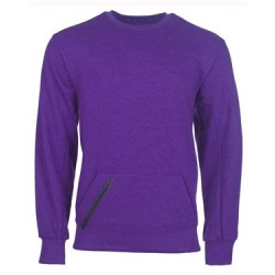 Cotton Rich Crewneck Sweatshirt