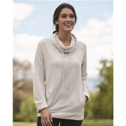 Women's HeatLast™ Fleece Faux Cashmere Funnel Neck Sweatshirt