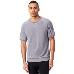 Coed Burnout French Terry Short Sleeve Sweatshirt