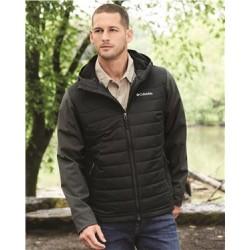 Oyanta Trail Hybrid Hooded Puffer Jacket