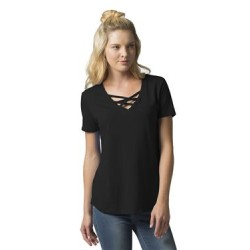 Women's Cage Front T-Shirt