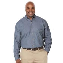 Long Sleeve Denim Tall Sizes