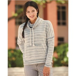 Baja Women's French Terry Cowlneck Pullover
